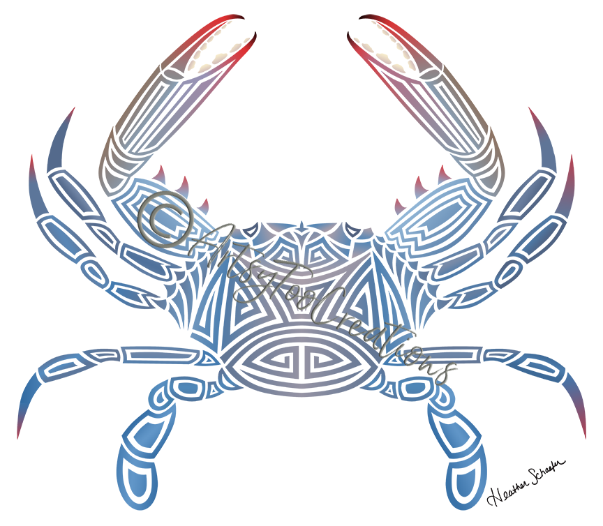 Tribal Blue Crab
